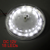 On Door Off Switch 18 White LEDs Car Auto Indoor Lamp DC 12V