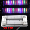 Car Truck Double Tube 12 Colorful LED Interior Roof Dome Lamp Lig...