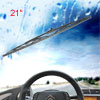 Vehicle Metal Frame Windshield Wiper Blade Replacement Black 21""