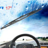Vehicle Metal Frame Windshield Wiper Blade Replacement Black 17 i...