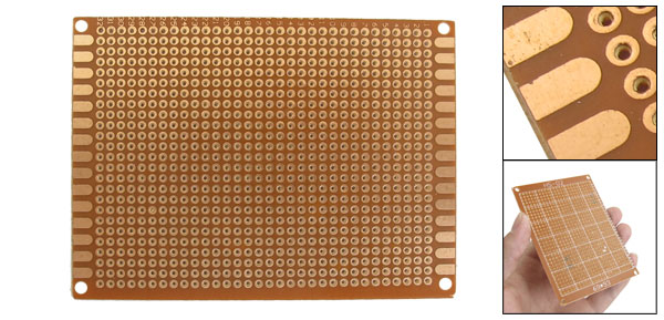 Universal Single Side Copper Panel Prototype PCB Board 9.3cm x 7cm