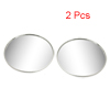 "X Autohaux 2"" Stick on Convex Rear View Blind Spot Mirror Silver ..."