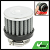25mm-38mm Hose Clamp Conical Mesh Car Air Filter Silver Tone 25mm...