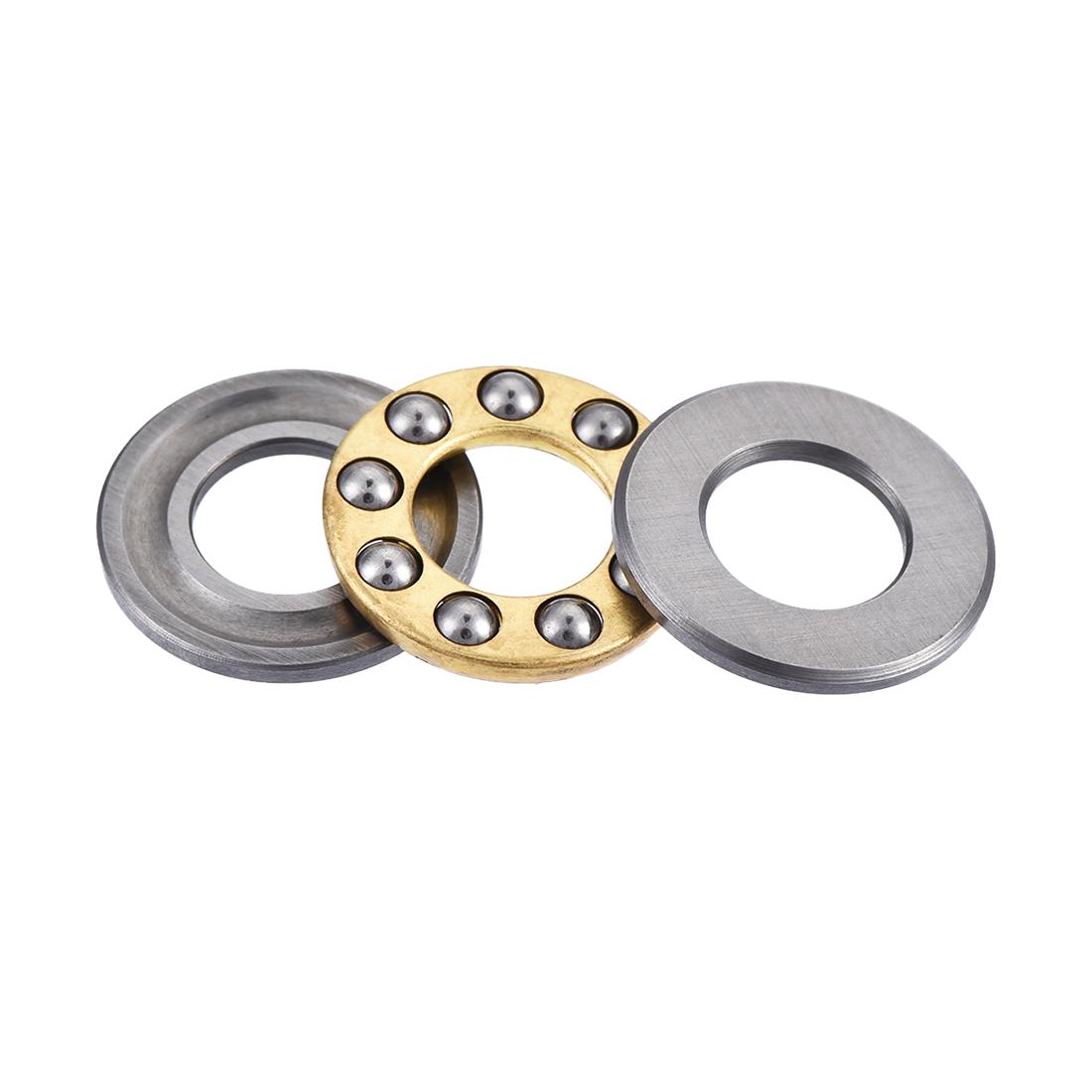 16mm-x-8mm-x-5mm-F8-16-Single-Direction-Axial-Thrust-Ball-Roller-Bearing