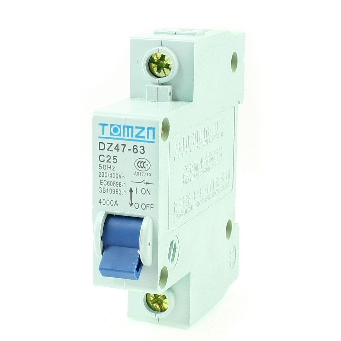 AC-230-400V-25A-1-Pole-1P-Overload-Protection-MCB-Mini-Circuit-Breaker