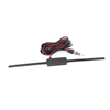 Black Plastic Adhesive Car Automobile Windshield Mount Electronic TV FM Antenna