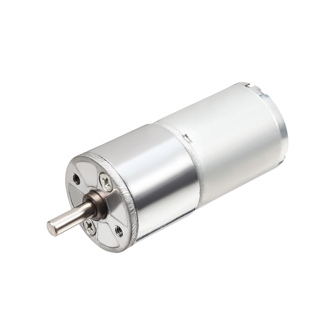 4mmx11mm-Shaft-25mm-Dia-Cylinder-Shaped-Gear-Motor-50-RPM-12V-DC