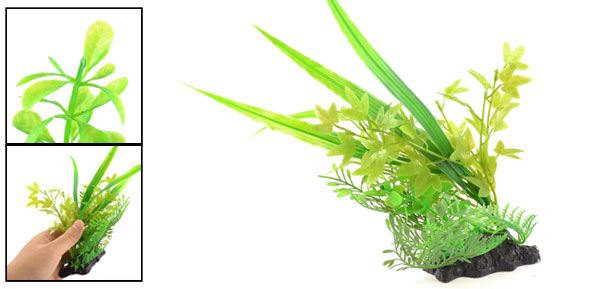 Green Artificial Fish Tank Underwater Plant Grass Decoration 9.1