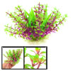 "4.7"" Height Aquascaping Simulated Water Plants Decor Green Violet for Fishbowl"