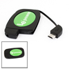 Black Micro USB Universal Wireless Charger Receiver for Samsung Galaxy S3 i9300