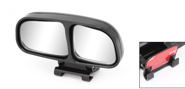 Vehicle Car Black Left Side Adjustable Wide Angle Reverse Rear View Mirror