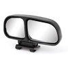 Auto Car Black Plastic Adhesive Tape Right Blind Spot Parking Rearview Mirror