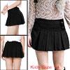 Girls Buttons Decor Winter Wear Worsted Mini Skirt...