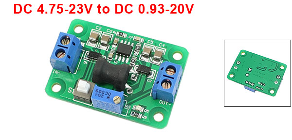 DC 4.75-23V to DC 0.93-20V Adjustable Voltage Step Down Module