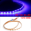 Blue 45 1210 SMD Auto Car Decoration Flexible Decor LED Strip 45cm