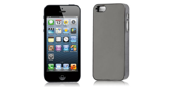 Black Chrome Plated Phone Back Case Cover for iPhone 5 5G