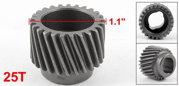 Electric Power Tool 25T Teeth Spiral Bevel Gear for Hitachi 20