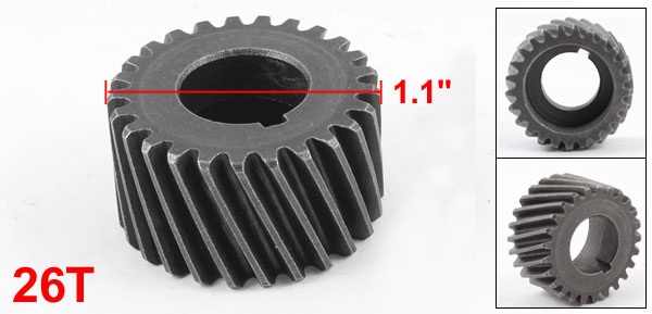 Electric Power Tool Part 26T Metal Spiral Bevel Gear for Hitachi 16