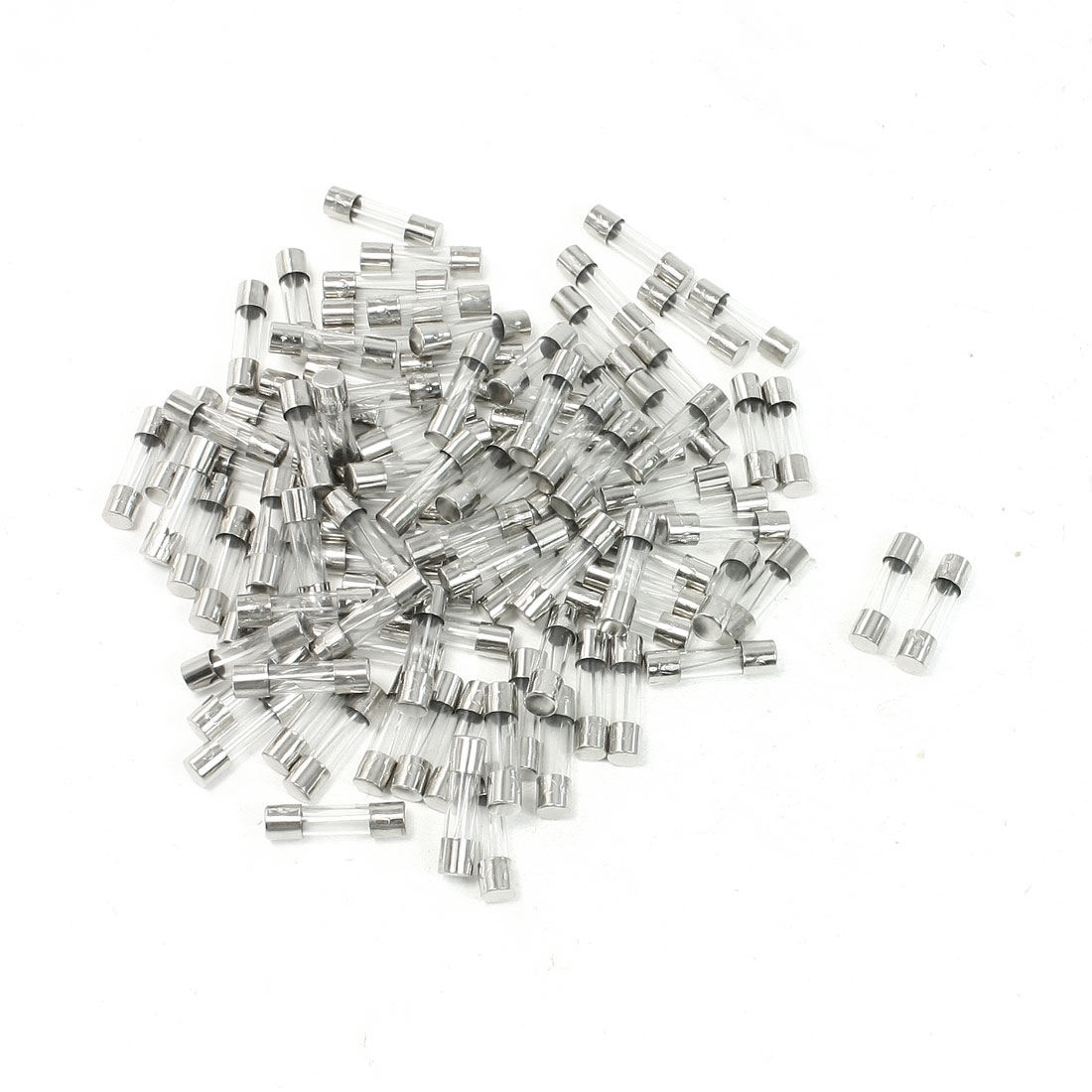 100-Pcs-Fast-Blow-5mm-x-20mm-Glass-Tube-Fuses-250V-15A-Amp