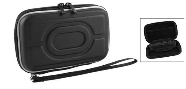 Zip-up EVA Carrying Case Sleeve Bag Pouch Black for 2.5