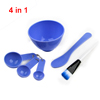 4 in 1 DIY Mask Purple Facial Makeup Stick Pappus Brush Bowl Set for Women