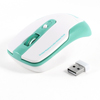 2.4GHz Wireless Optical Mouse Mice Blue White + USB Receiver for PC Computer