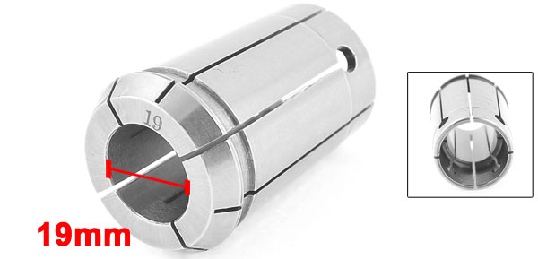 Stainless Steel 19mm Clamp Diameter Spring Collet Tool 2.04