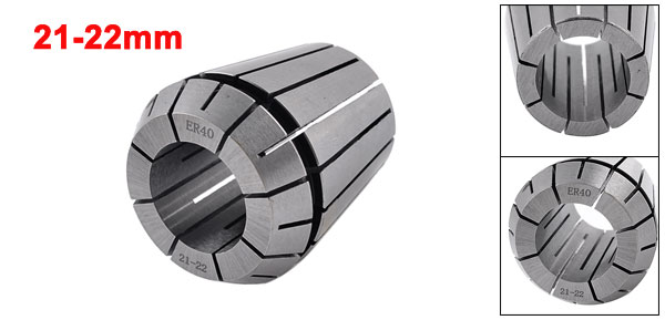 Clamping Range 21-22mm ER40 Precision Spring Collet Reaming Part