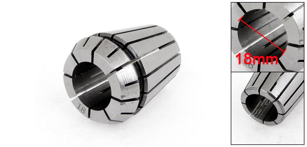 Round Chuck Mill Stainless Steel Spring Collet ER-32 18mm