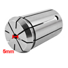 "Stainless Steel 5mm Clamp Diameter Spring Collet Tool 2.04"" Height Silver Tone"