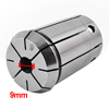 "Stainless Steel 9mm Clamp Diameter Spring Collet Tool 2.04"" Silver Tone"