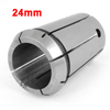 "Stainless Steel 24mm Clamp Diameter Spring Collet Tool 2.04"" Silver Tone"