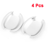 Adhesive ABS Door Handle Bowl Cover Assembly 4 Pcs