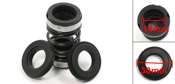 14mm Inner Diameter Rubber Bellow Pump Mechanical Seal 64mm Height