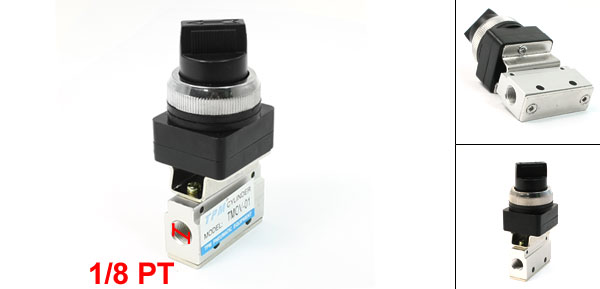 1/8 PT Standard Type 2 Position 3 Way Pneumatic Mechanical Valve