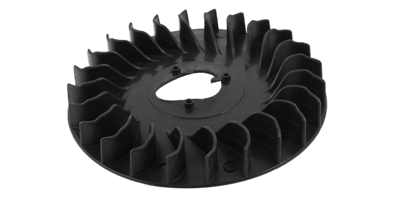 Black Plastic 24 Teeth Centrifugal Blower Fan Impeller Blade for Auto Car