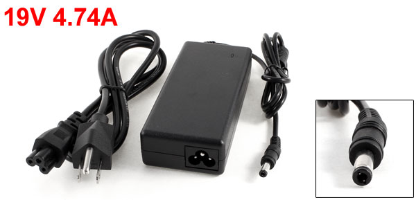 US Plug AC100-240V 19V 4.74A PC Laptop Notebook AC Adapter Charger for HP Hasee