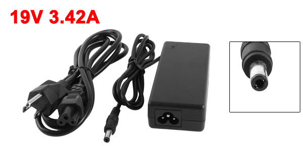 5.5mm x 2.5mm 19V 3.42A Notebook Power Charger AC Adapter for IBM ASUS