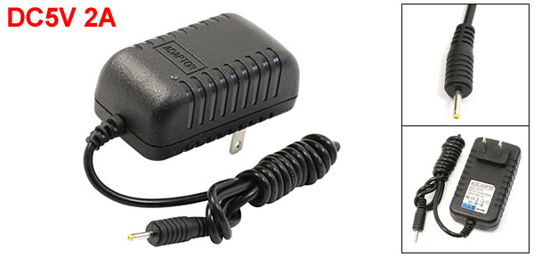 Universal 2.5mm US Power Adapter AC Charger 5V 2A for Tablet PC