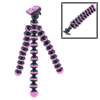 "Pink Ball Leg Mini Flexible Octopus Tripod Stand Holder 6.5"" for DV SLR"