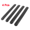 4 Pcs Black Soft Plastic Car Body Door Bumper Shoc...