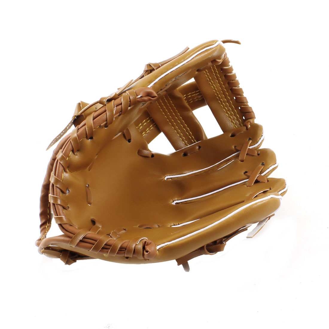 Adult-Fielder-Players-Faux-Leather-Baseball-Softball-Glove-Brown-9-5