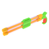 Children Plastic Double Tank Plastic Water Sprayer Gun Toy Green Yellow
