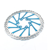 "Bicycle Repairing Teal Blue 6.3"" Diameter Front Rear Brake Disc Rotor"