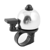 Silver Tone Tea Pot Design Bicycle Alarm Sound Bell for 22mm Handlebar Bike