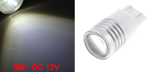 White T20 7443 7440 7441 LED Backup Light Brake Lamp 5W DC 12V for Car Auto
