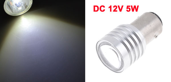 DC 12V White 1157 BAY15D 5W R3 Reverse Turn Signal Light LED Bulbs Lamp for Car