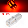 1157 BAY15D Red 21 COB LED Turn Tail Brake Reverse Light Lamp Bulb for Car
