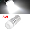 1156 BA15S White LED Stop Brake Turn Signal Light Lamp Bulb 3W for Car Auto