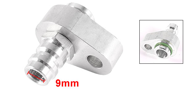 9mm Thread Dia 18mm Pipe Port Car R12 Air Condition Compressor Connector
